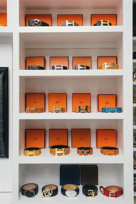 In Closet Hermes by Hermes Belts Contemporary Closet Neiman