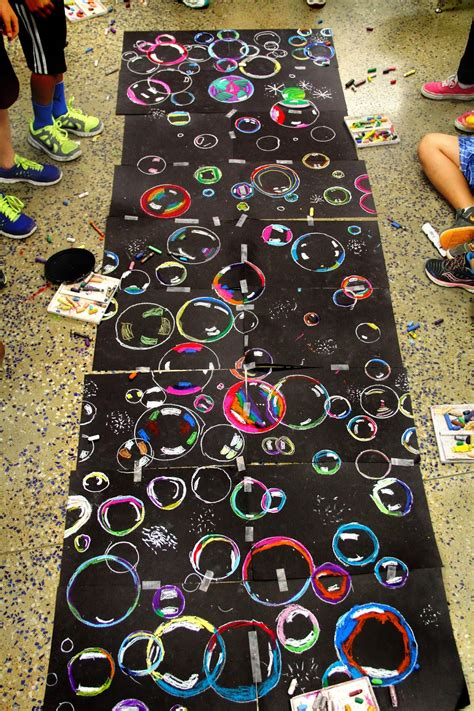 art projects smart class floating on to grade end of the year