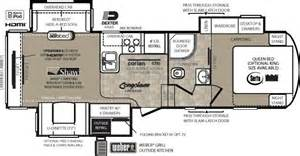 Forest River Fifth Wheel Floor Plans by Wildcat Fifth Wheel By Forest River Rv Floor Plans For