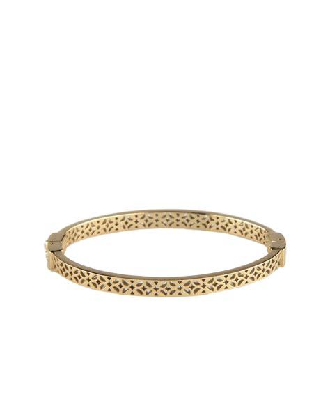 fossil bracelet in gold lyst