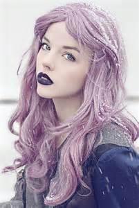 lavender hair color lavender hair copy it manic panic lipstick
