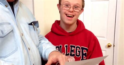 College Acceptance Letter Reaction s reaction to college acceptance is beautiful
