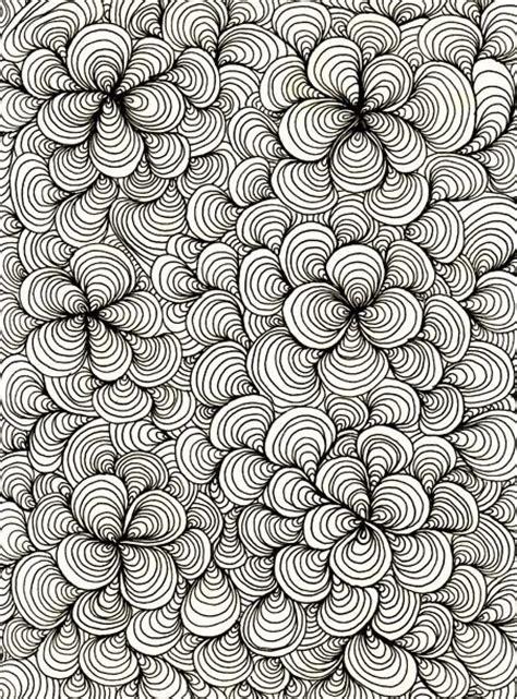 doodle pattern love zentangle zentangles pinterest