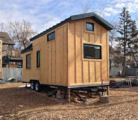 tiny home on trailer tiny house construction projects rising tiny house pins