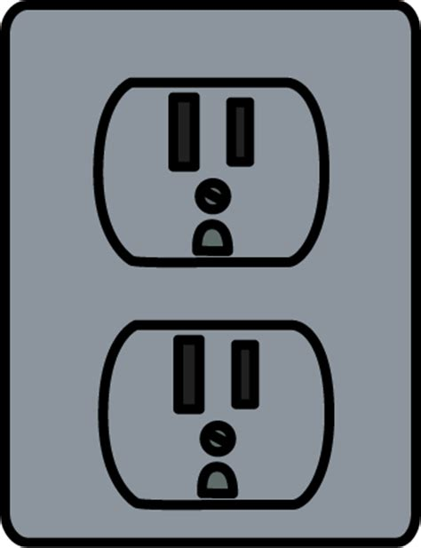 socket outlet clipart clipground