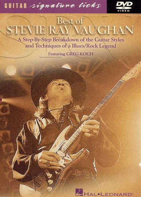 stevie ray vaughan signature licks dvd