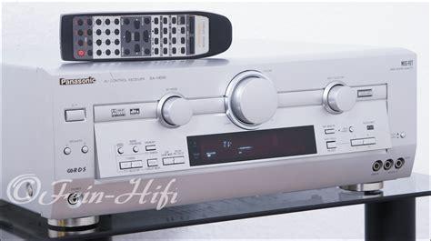V Audio Surround Panasonic by Panasonic Sa He90 Digital Av Receiver Gebraucht Fein Hifi