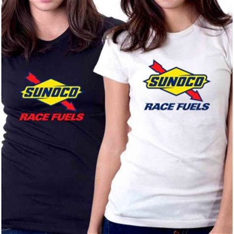 Tshirt Kaos Sunoco Race Fuels new t shirt sunoco race fuels nascar american
