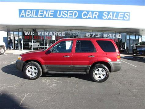 abilene used car sales 2007 ford escape xlt sport abilene tx abilene used car sales