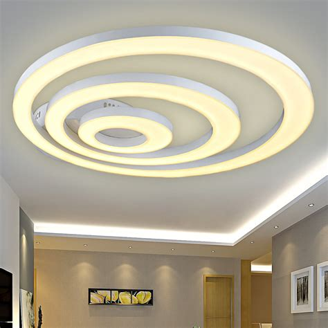 Led Lights Ceiling Fixtures Creative Modern Led Ceiling Lights For Living Room Bedroom Remote Dimming Deckenleuchten