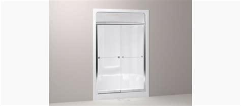 Kohler Steam Shower Doors Kohler Senza Steam Sliding Shower Door For Sonata Showers Kohler