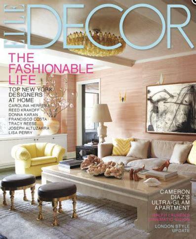 elle decor magazine subscription for 4 50 saving with 1 year subscription to elle decor magazine 4 50 today