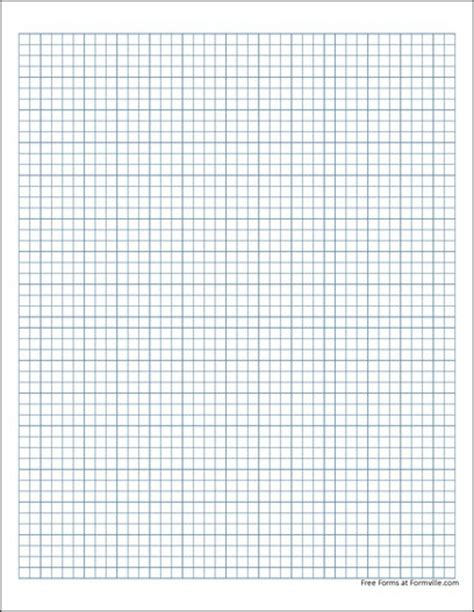 free graph paper 5 millimeter solid blue from formville
