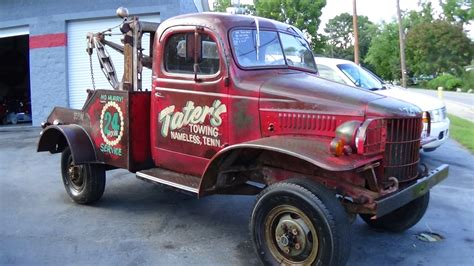 dodge wrecker dodge power wagon wrecker auctions buy and sell