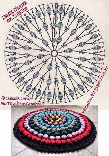 materiales graficos gaby varios modelos de alfombras en ganchillo croche ganchillo