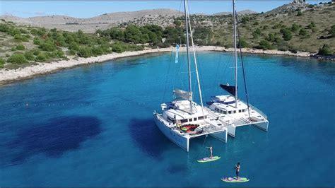 catamaran sailing croatia split dubrovnik youtube - Catamaran Cruise In Croatia