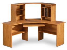 Free Woodworking Plans Corner Shelves by South Shore Prairie Country Pine Corner Desk 7232780 Homelement Com