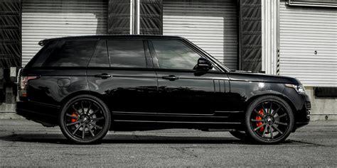 range rover truck black black hse range rover car gallery forgiato