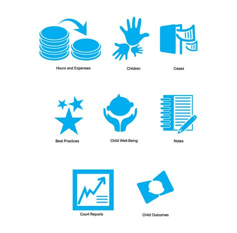 icon design management conservative modern management icon design for a company