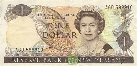 currency nzd 1 new zealand dollar series 1981 exchange yours for