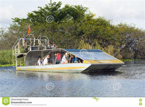 florida fan boat everglades fan boats editorial stock image image 70419554