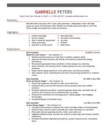 sle of resume objective for resume sales associate writing resume