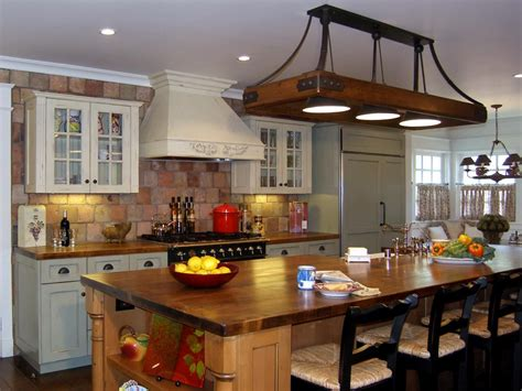 houzz kitchens traditional stainless steel overhead racks