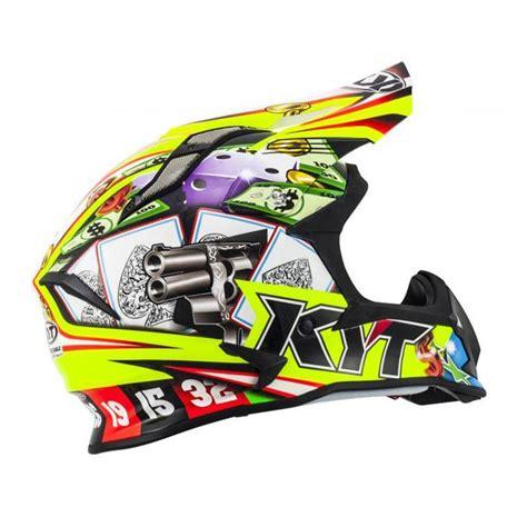 Helm Kyt Motocross jual kyt strike eagle helm motocross yellow green harga kualitas terjamin