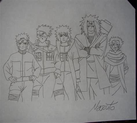 imagenes para dibujar a lapiz de kakashi mis dibujos a lapiz anime im 225 genes taringa