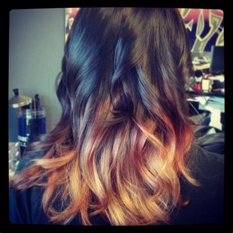 black and blonde ombre images ombre hair black to blonde stuff by me pinterest