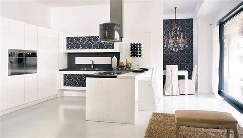 Contemporary Kitchen Wallpaper Ideas Kitchen Wallpaper Ideas Wall Decor That Sticks