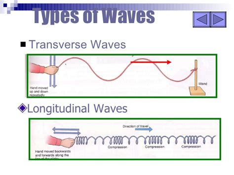 What Type Of Wave Is A Light Wave by Longitudinal And Transverse Waves