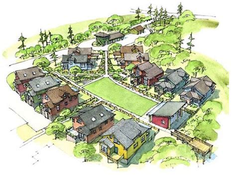 tiny house village design concept how to design a neighborhood for happiness shareable