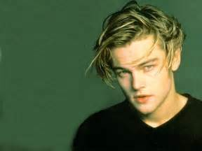 leo dicaprio young hairstyle gallery