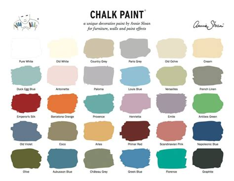 new chalk paint colors paint inspirationpaint inspiration