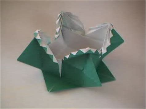 Origami Fancy Box - origami