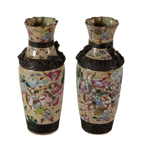 vasi cinesi coppia di vasi cinesi ceramiche antiquariato