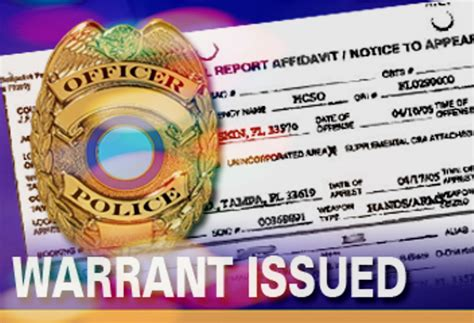 bench warrant for arrest arrest warrant and bench warrant differences in massachusetts