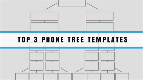 Phone Tree Templates Dialmycalls Com Printable Phone Tree Template