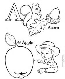 letter a coloring pages preschool letter coloring pages az coloring pages