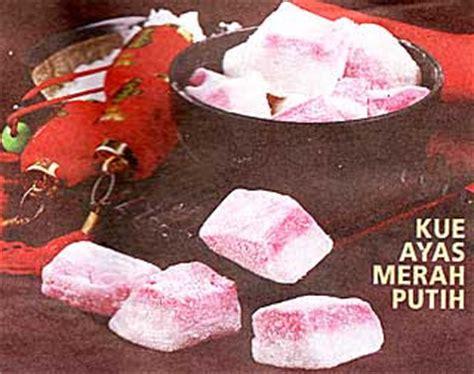 Essen Merah Irex S kue ayas merah putih