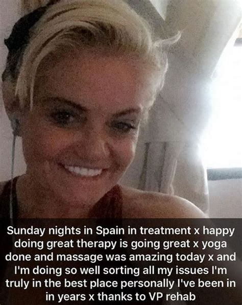 Doing Great In Rehab by Danniella Westbrook Is Doing Great As She Continues