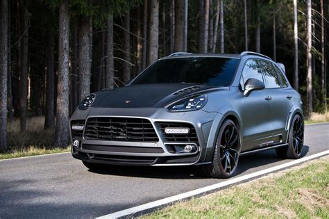 Official Mansory Porsche Cayenne Turbo Gtspirit