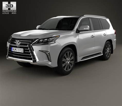 lexus models 2016 lexus lx 2016 3d model hum3d