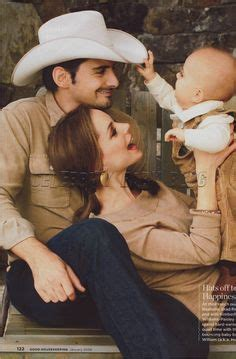 Baby Boy For Brad Paisley And Williams by Brad Paisley With His Lovely And Their Boys Huck