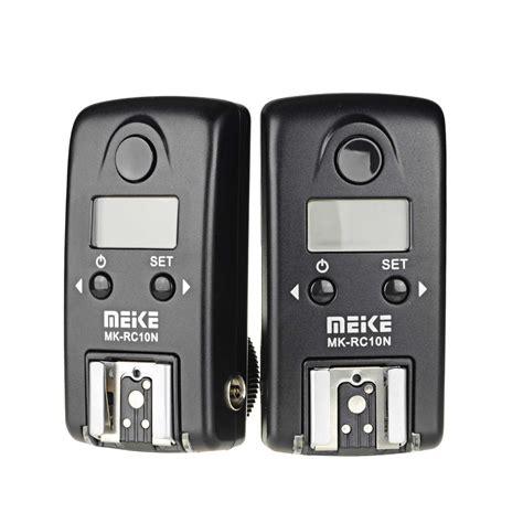 Wireless Flash Trigger Meike Mk Rc7 For Nikon Slr N3 meike 174 mk rc10n hss i ttl 1 8000s wireless lcd ttl studio flash trigger for nikon meike