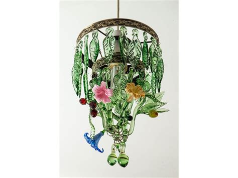 Hand Blown Glass Chandeliers A Flame With Desire Handmade Glass Chandelier