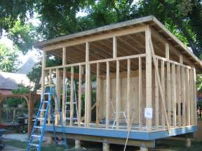 shed style roof construction modern manshed building