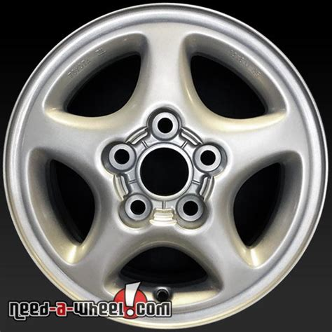 1991 Toyota Rims 14 Quot Toyota Mr2 Wheels Oem 1991 92 Silver Factory Stock