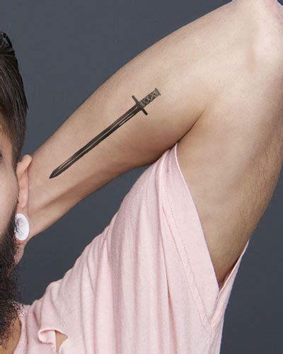 subtle tattoos for men best 25 sword ideas on lotr